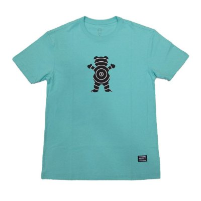Camiseta Grizzly Vortex Celadon