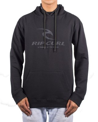 Moletom Rip Curl Live Icon Stripe