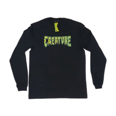 Camiseta Creature Manga Longa Strains