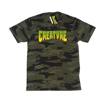 Camiseta Creature Classic Camo