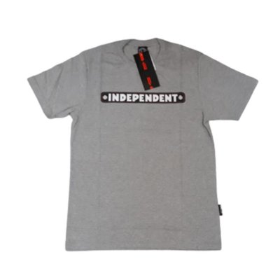 Camiseta Independent Bar Logo Cinza