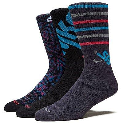Meia Nike SB Everyd Max (3 pares)