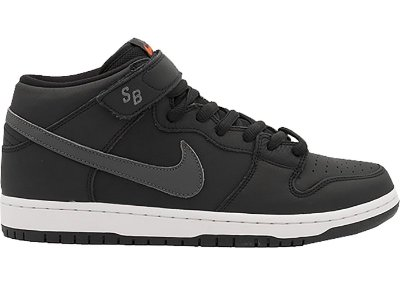 Tênis Nike SB Dunk Mid Orange Label Dark/Grey