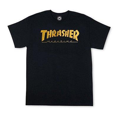 Camiseta Thrasher Gold Foil Especial