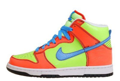 "Tênis Nike 6.0 WMNS Dunk Hi ""Liquid Lime"""