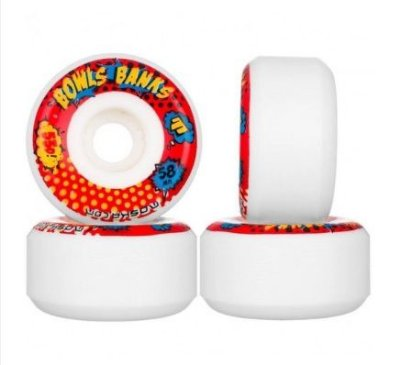 Rodas skate Moska 58mm bowl banks rock 53d