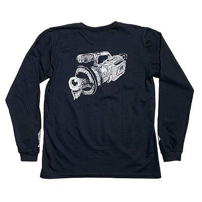 Camiseta - VX1000 Preta - Manga Longa