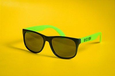 Óculos de Sol Black Media - Verde Fosco