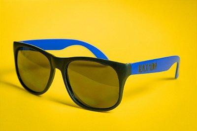Óculos de Sol Black Media - Azul Fosco