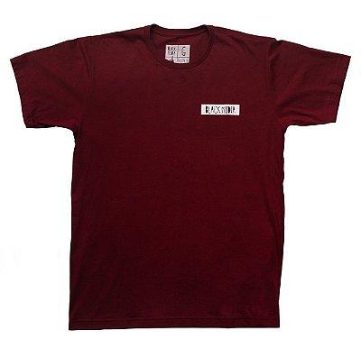 Camiseta - Logo Clássico Vinho