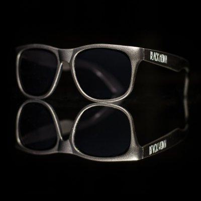 Óculos de Sol Black Media - Preto Fosco
