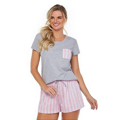 Conjunto Candy Stripes Rosa