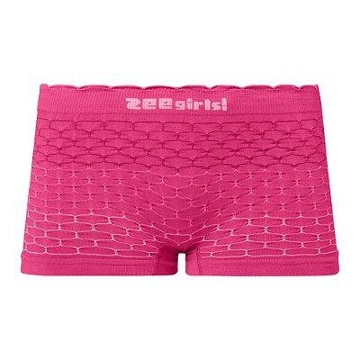 Calcinha Boxer Infantil Sem Costura Rosa