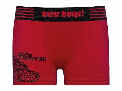 Cueca Infantil Boxer Zee Rucci Vermelha