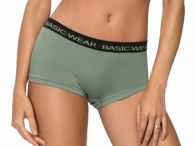 Calcinha Boxer Basic Wear Verde