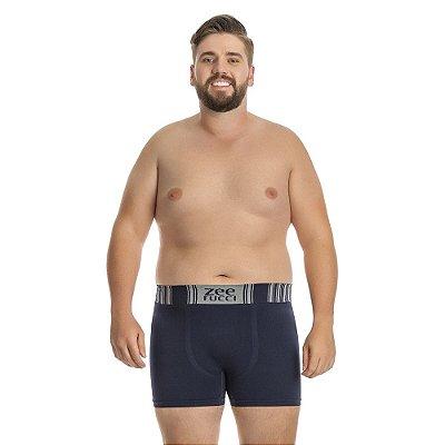 Cueca Boxer sem Costura  Azul Navy