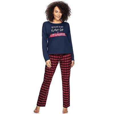 Pijama Red Checked