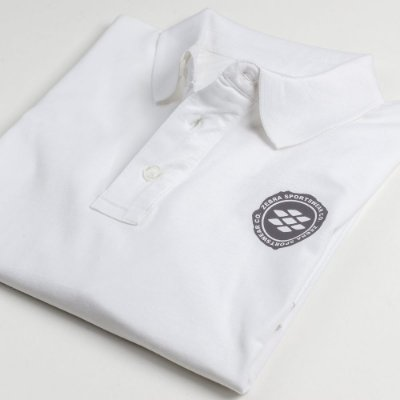 Camisa Polo Zebra Masculina Branco Serie RC00102-0005-007-00
