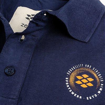 Camisa Polo Zebra Masculina Marinho Serie RC00102-0005-008-41