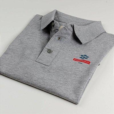 Camisa Polo Zebra Masculina Mescla Serie RC00102-0005-004-20