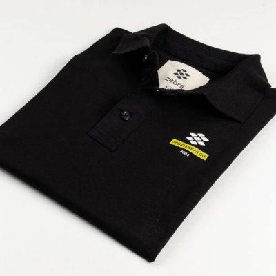 Camisa Polo Zebra Masculina Preto Serie RC00102-0005-004-10