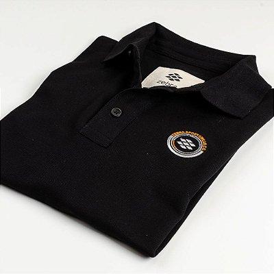 Camisa Polo Zebra Masculina Preto Serie RC00102-0005-013-10