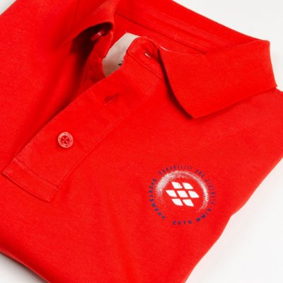 Camisa Polo Zebra Masculina Vermelho Serie RC00102-0005-008-60