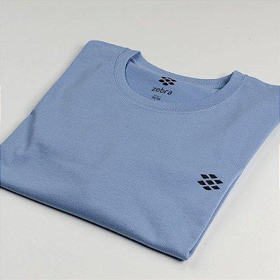 Camiseta Zebra Masculina Azul Serie RC00101-0005-010-30