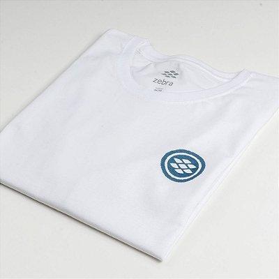 Camiseta Zebra Masculina Branco Serie RC00101-0005-003-00