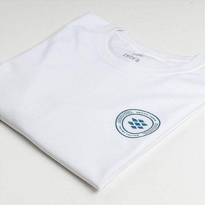 Camiseta Zebra Masculina Branco Serie RC00101-0005-004-00