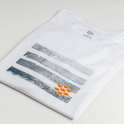 Camiseta Zebra Masculina Branco Serie RC00101-0005-027-00