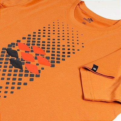 Camiseta Zebra Masculina Laranja Serie RC00101-0005-026-70