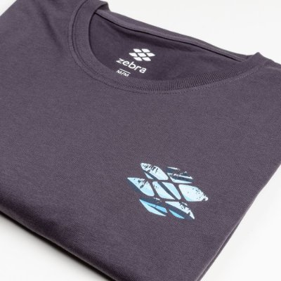 Camiseta Zebra Masculina Marinho Serie RC00101-0005-009-40