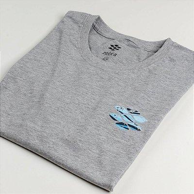 Camiseta Zebra Masculina Mescla Serie RC00101-0005-009-20