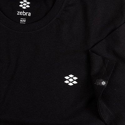 Camiseta Zebra Masculina Preto Serie RC00101-0005-016-10