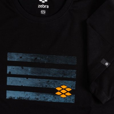 Camiseta Zebra Masculina Preto Serie RC00101-0005-027-10