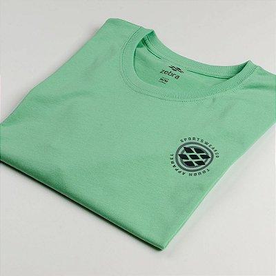 Camiseta Zebra Masculina Verde Serie RC00101-0005-002-90