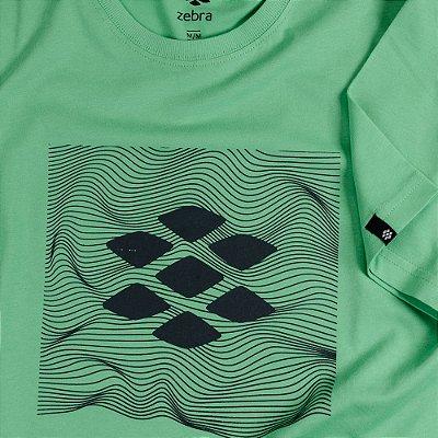 Camiseta Zebra Masculina Verde Serie RC00101-0005-006-90