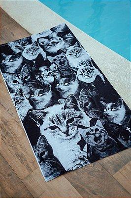 Toalha Gatos Satânicos