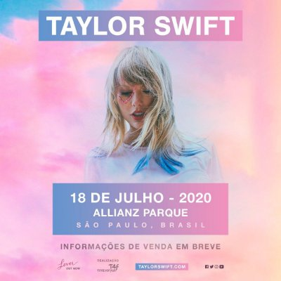 SHOW Taylor Swift - 18/07/2020