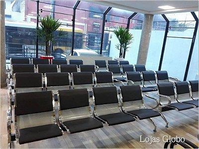 Longarina Aeroporto Cromada