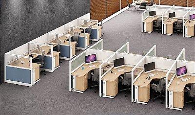 Estação de trabalho modular Romazza Plus