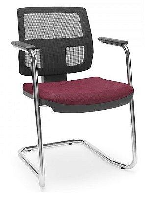 Cadeira Brizza tela fixa
