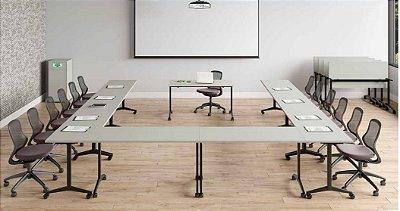 Mesa dobrável ( reunião/Treinamentos)