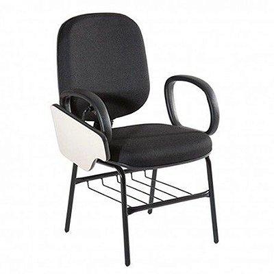 Cadeira diretor universitária com prancheta