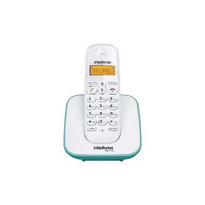 Telefone sem Fio Digital TS 3110 Branco e Azul Claro 4123150 - Intelbras