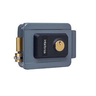 Fechadura Elétrica FX2000 Cilindro Fixo Cinza 4679000 - Intelbras