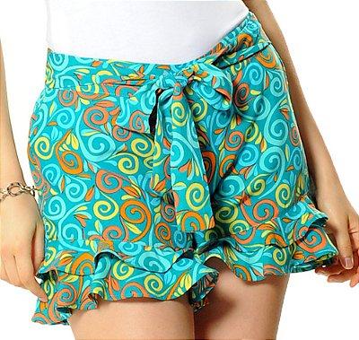 Shorts Gisele Verde