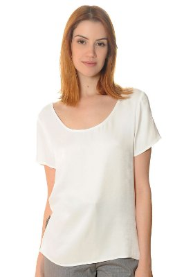 T-shirt Ellen Off White