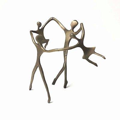 Escultura Ciranda Casal +2 Meninas
